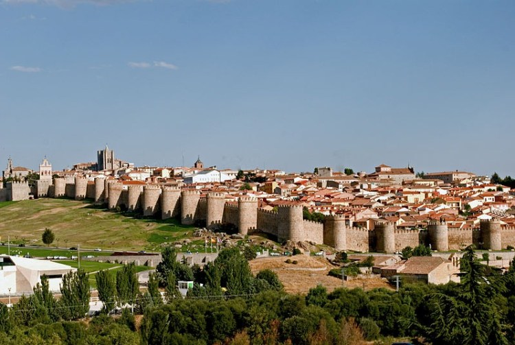 The King instantly started building a great stone wall around Avila to defend his latest conquest from further attacks.