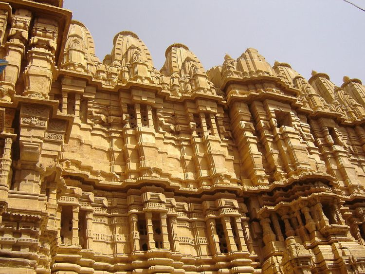 """The Jaisalmer Fort has an ingenious drainage system called the """"ghut nali"""" lets the easy drainage of rainwater away from the fort in all four directions of the fort."""