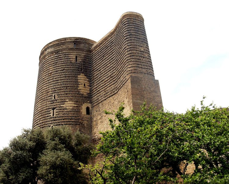 There's museum inside Maiden Tower, showing historic evolution of the Baku city.