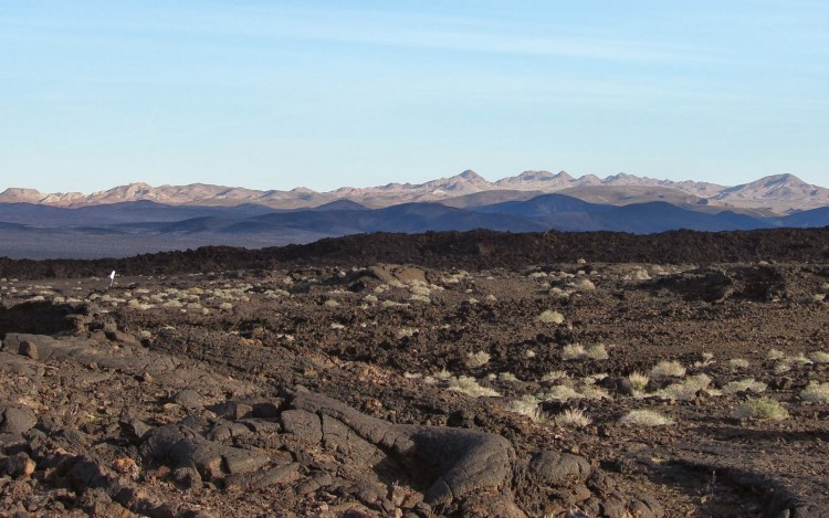 Pisgah Crater The Lava Field