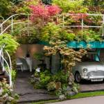 Creative Lush Garden Garage Idea Wins Gold Medal at Chelsea Flower Show