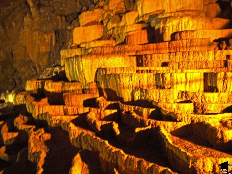 Škocjan Caves is a cave system, acknowledged as one of the natural treasure in Slovenia.
