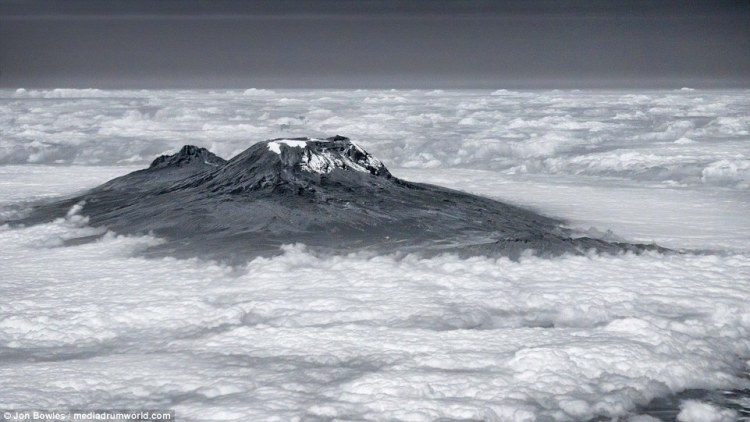 One of the perks of the job for piltos is seeing some of the most amazing sights in the world, including Tanzania's Mount Kilimanjaro