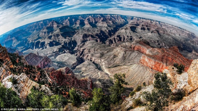 This image was taken from Mather Point, one of the best places to take in the majesty of the Grand Canyon