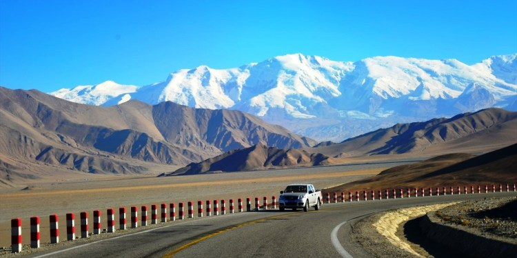 The KKH (Karakoram Highway is one of the highest paved international road in the world. The road is popular tourist attraction across Pakistan and China.