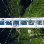 World's Longest and Highest Glass Bridge Opens in China's.