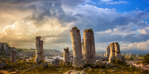 "The ""Pobiti Kamani"" was designated a natural landmark in the late 1930s."