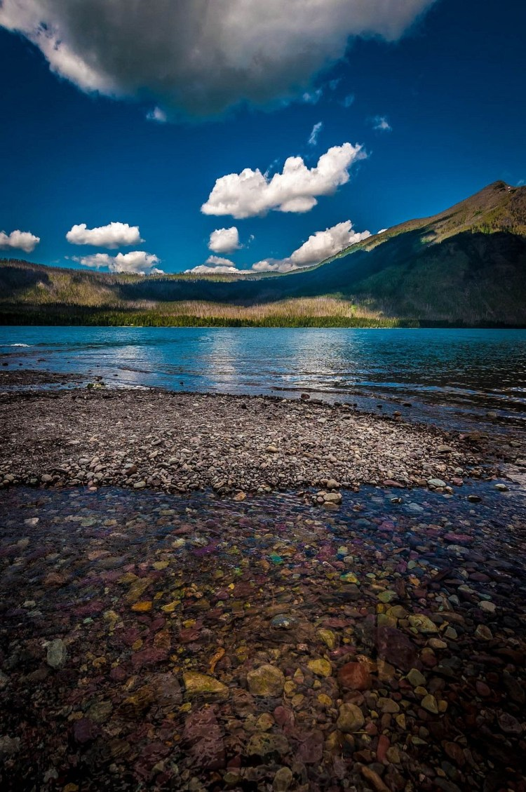 In The Glacier National Park of U.S. state of Montana, close to the border with Canada, is home of over 700 lakes.
