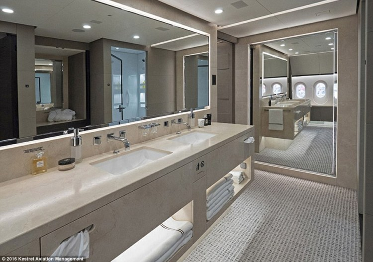 an-abundance-of-fresh-towels-are-available-as-are-a-selection-of-bathroom-products-making-it-about-as-far-from-a-commerical-plane-loo-as-you-can-get