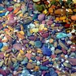 The Colored Pebbles of Lake McDonald