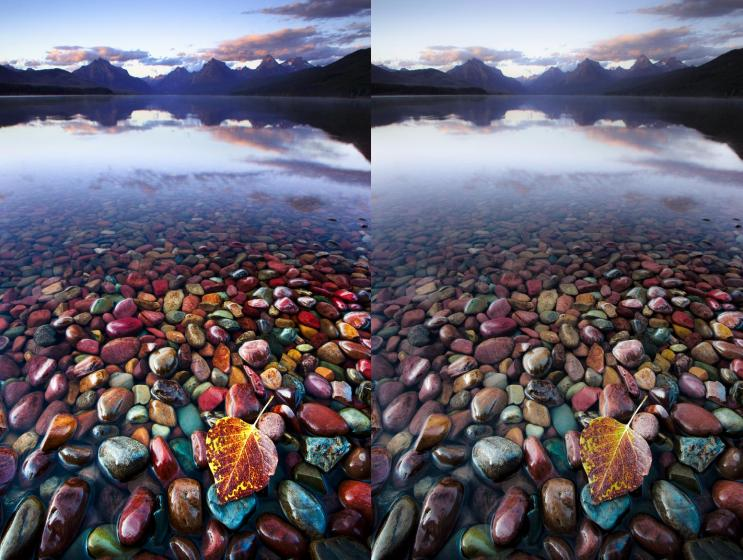 """Several of these got deposited onto the lakes and """"tarns"""" lakes formed by filling the bottoms of ice-scoured amphitheaters. Although the water erosion then rendered them into smooth pebbles!"""