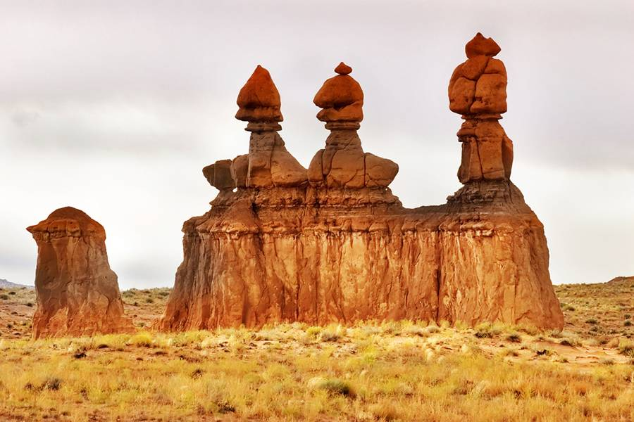 The Strange Hoodoos of Goblin Valley State Park, Utah