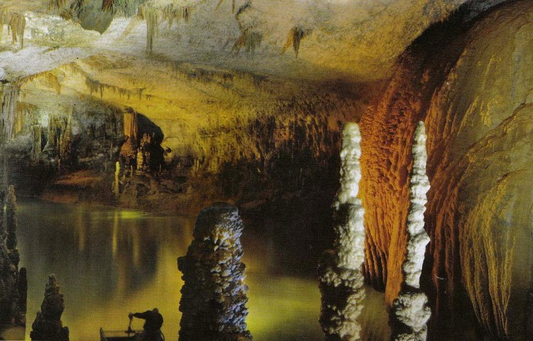 Though inhabited in prehistoric times, the lower cave was not rediscovered until 1836 it can only be visited by boat since it channels an underground river that provides fresh drinking water to more than a million Lebanese.