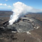 Halemaumau Crater, Kilauea in Hawaii