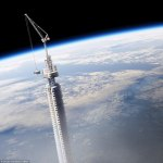 Sci-fi Plan to Hang a wandering Skyscraper from Asteroid Orbiting Earth is Unveiled