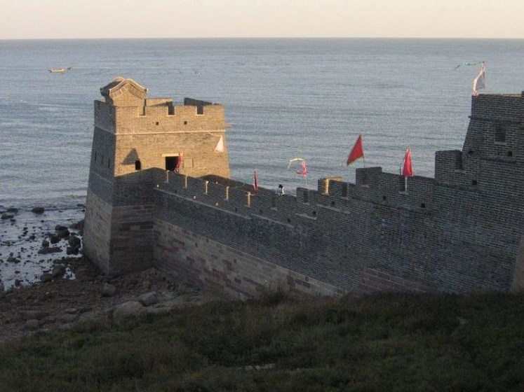 Particularly well-known is the wall built between 220 - 206 BC by the first Emperor of China, Qin Shi Huang, but little of that wall remains. However, after that, the Great Wall has on and off been rebuilt, maintained and fortified.