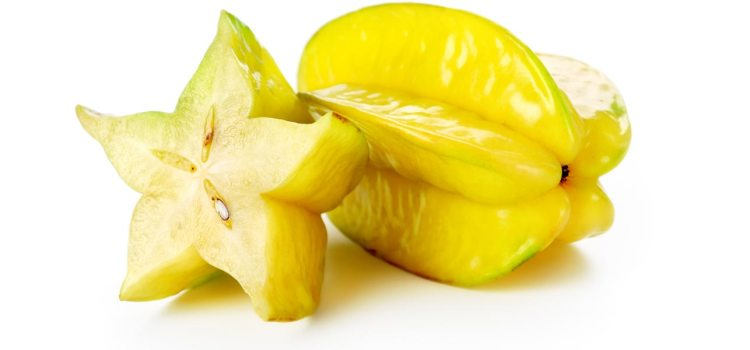 The fruit has prominent longitudinal ridges, running down its sides usually five when cut in cross-section, hence its name in cross section, it resembles a star.