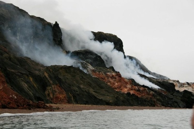 He thought that rocks to be volcanic, but the fact was something else.