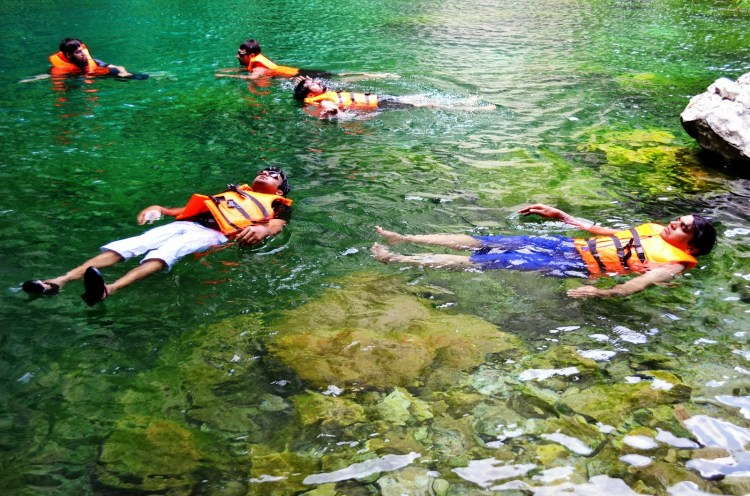 A fresh, clear lake is all you can fantasize about on a beautiful day, the lush green waters just glistening in the broad daylight the cascading waterfall situated at the lake, you might spot tiny little fish scurrying in the water.