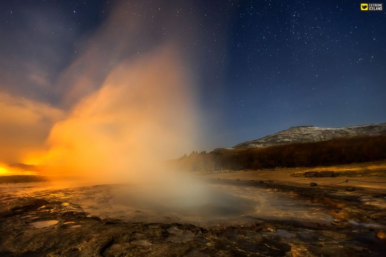 """The term Geysir (Engl. Geyser) is itself derived from the Icelandic word """"geysa"""" which means to gush."""
