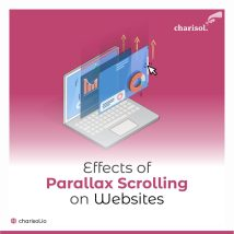 Effects of parallax scrolling on websites