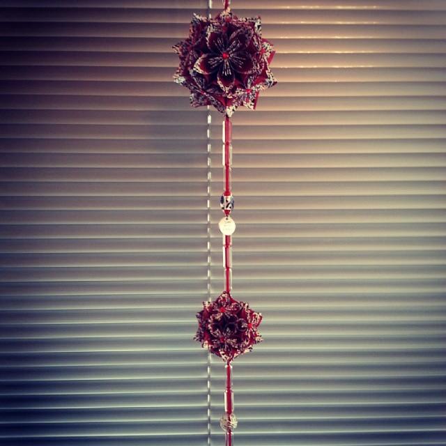 Origami: bloembollen decoratie