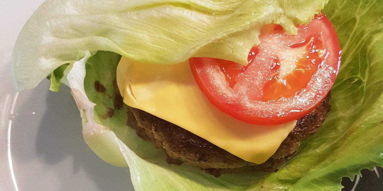 Recept gevulde hamburger (koolhydraatarm)