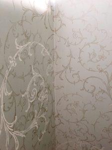 half bath wallpaper