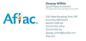 Desaray Wilhite Business Card
