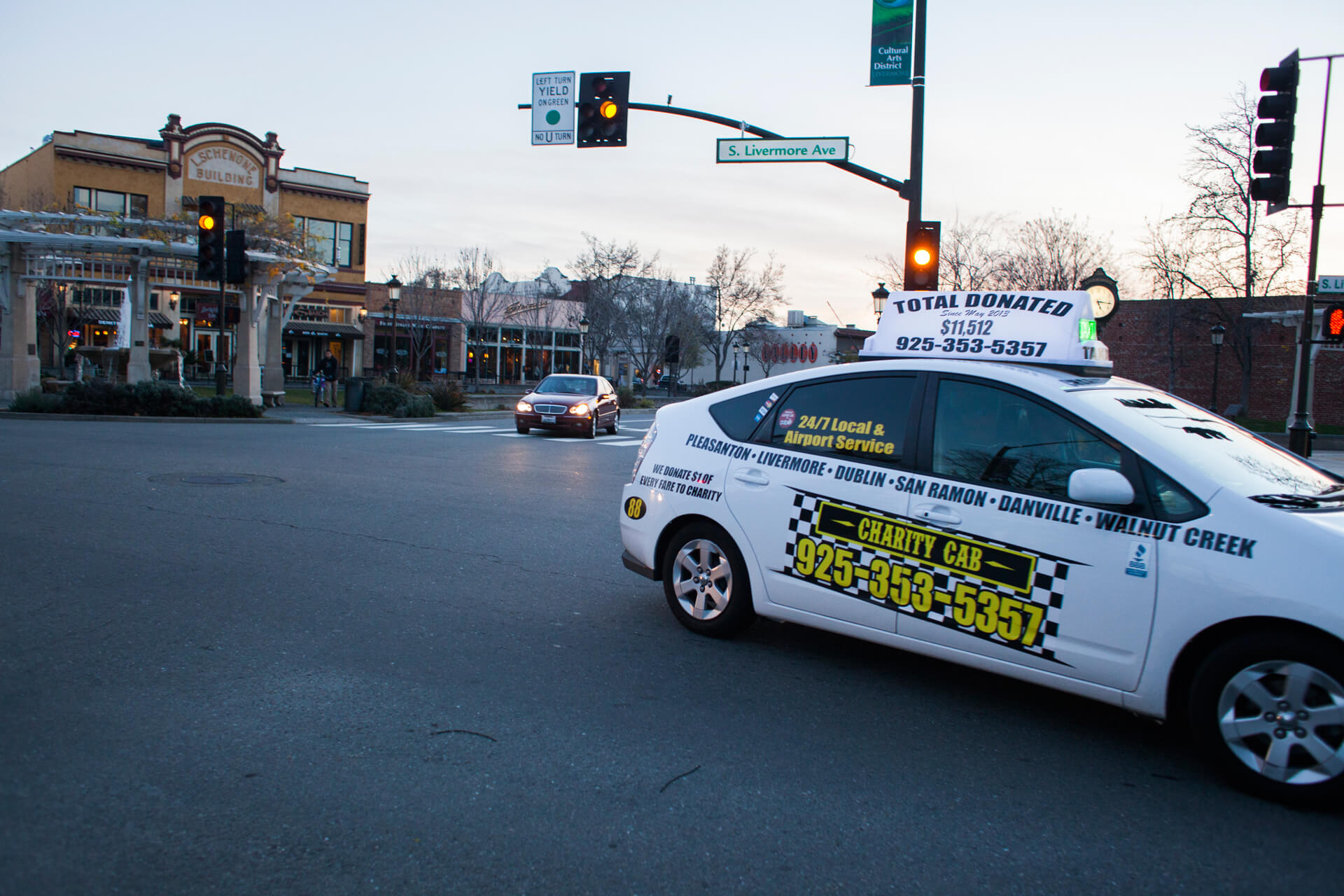 charity-cab-services the tri valley as a top rated taxi company