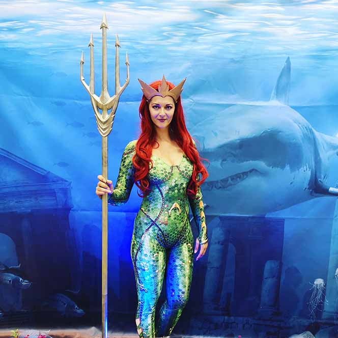 Superhelden - Mera (Aquaman)