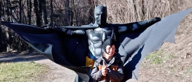 Hausbesuch von Batman