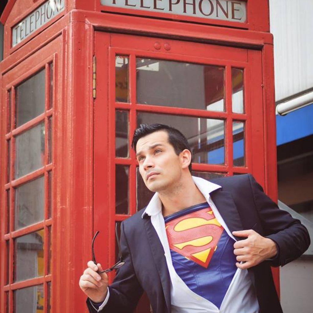 Superman-Heldenbild