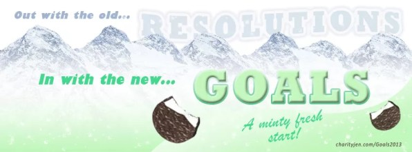 Minty Fresh New Year Goals