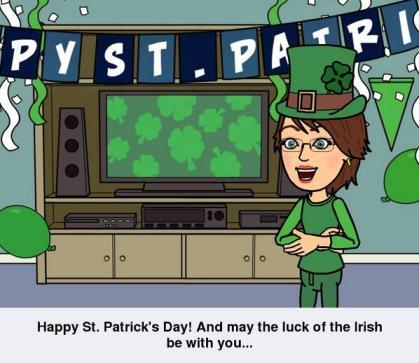 Happy St. Patrick's Day Bitstrip