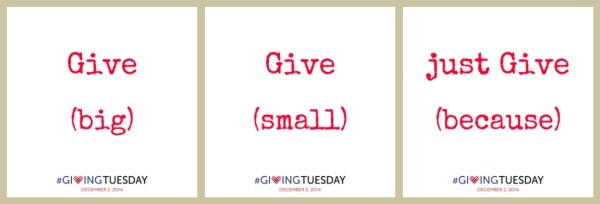 Giving Tuesday Ordinary People Doing Extraordinary Things