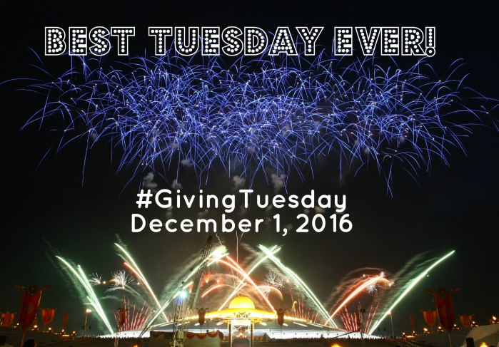 Giving Tuesday Best Tuesday Ever
