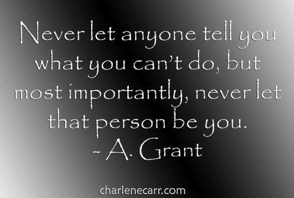 never let that person