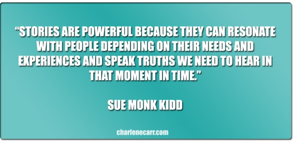 stories are powerful sue monk kidd