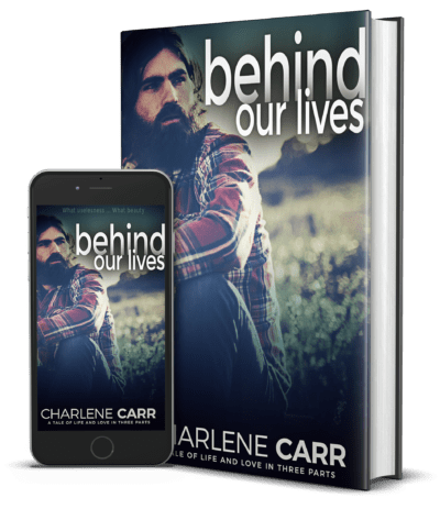 behnid our lives stand up cover charlene carr