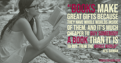 mothers day - give a book, give the whole world