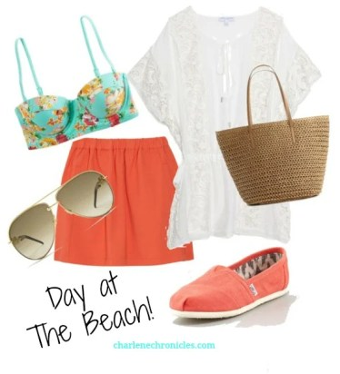 beach outfit ideas - memorial day outfit