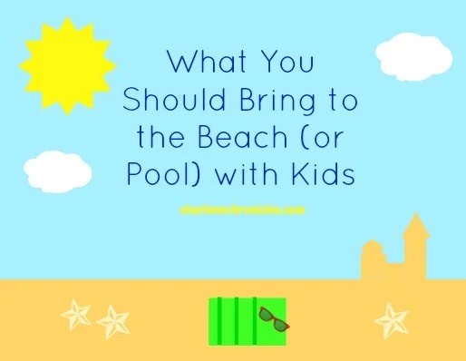 What To Bring The Beach With Kids