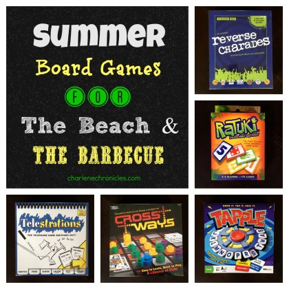 summer board games for parties and the beach