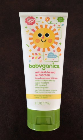 baby ganics sunscreen