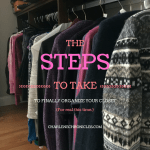 How To Clean Out Your Clothes Closet