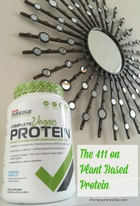 what is plant based protein