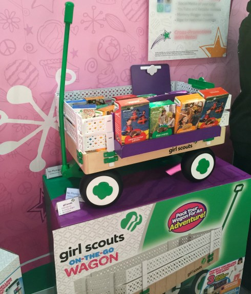 Girl Scout on the go wagon Charlene Chronicles