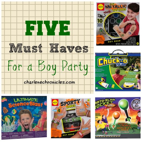 boy party ideas
