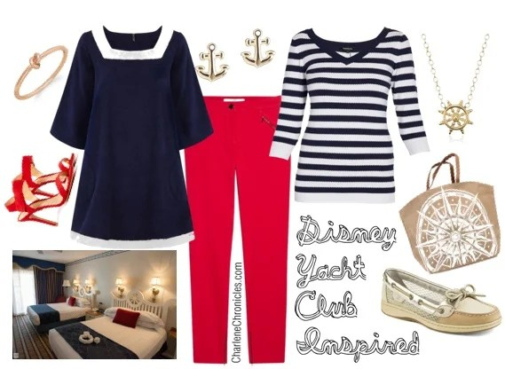 disney yacht club inspired outfit